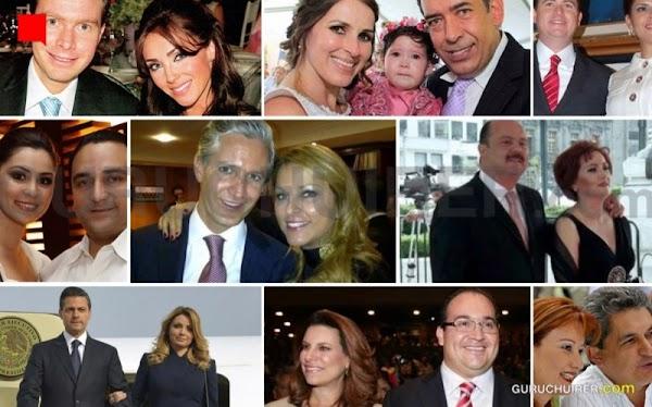 """En la vida de cada político """"tranza"""", atrás hay una mujer interesada y corrupta Mujeres que se venden"""