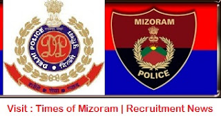 RECRUITMENT CHUNGCHANGA MIZORAM POLICE THUCHHUAH