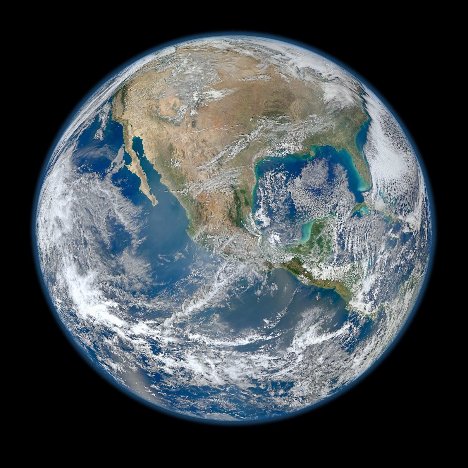 64 megapixeles csoda: A legcsodálatosabb nagy felbontású kép a Földről