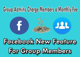 Group Admins Charge Members a Monthly Fee