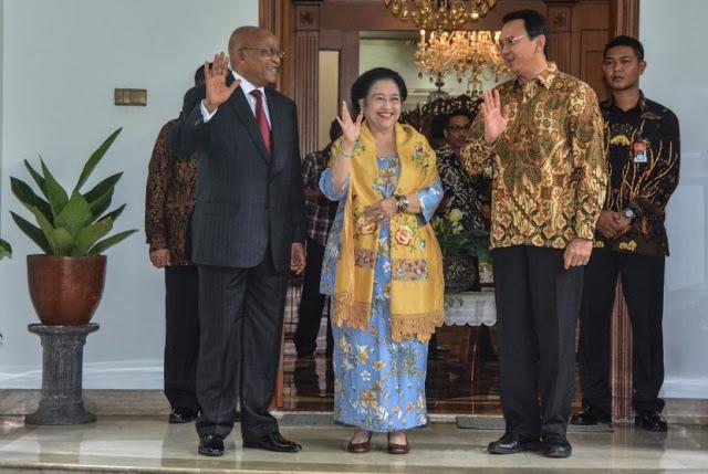 PAYAH, Ahok Tawarkan Pulau Seribu pada Presiden Afrika Selatan