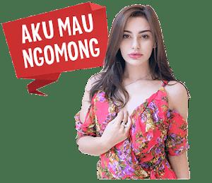 Sticker WhatsApp Keren Nola Alexandra
