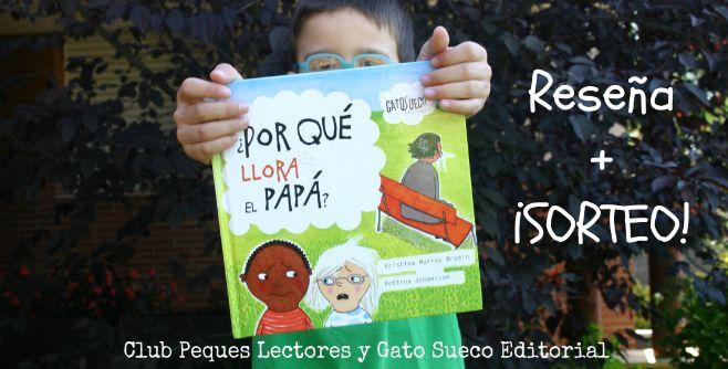 libro infantil ¿por qué llora el papá? portada