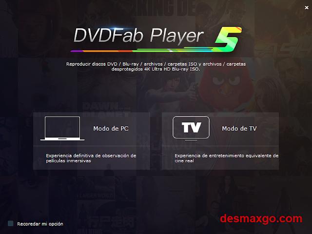 DVDFab Player 5 Full cap 1