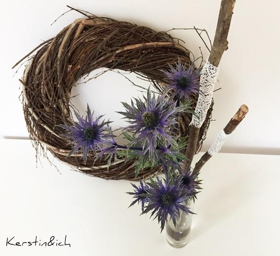Wohnen Deko Distel Friday Flowerday Stöcke