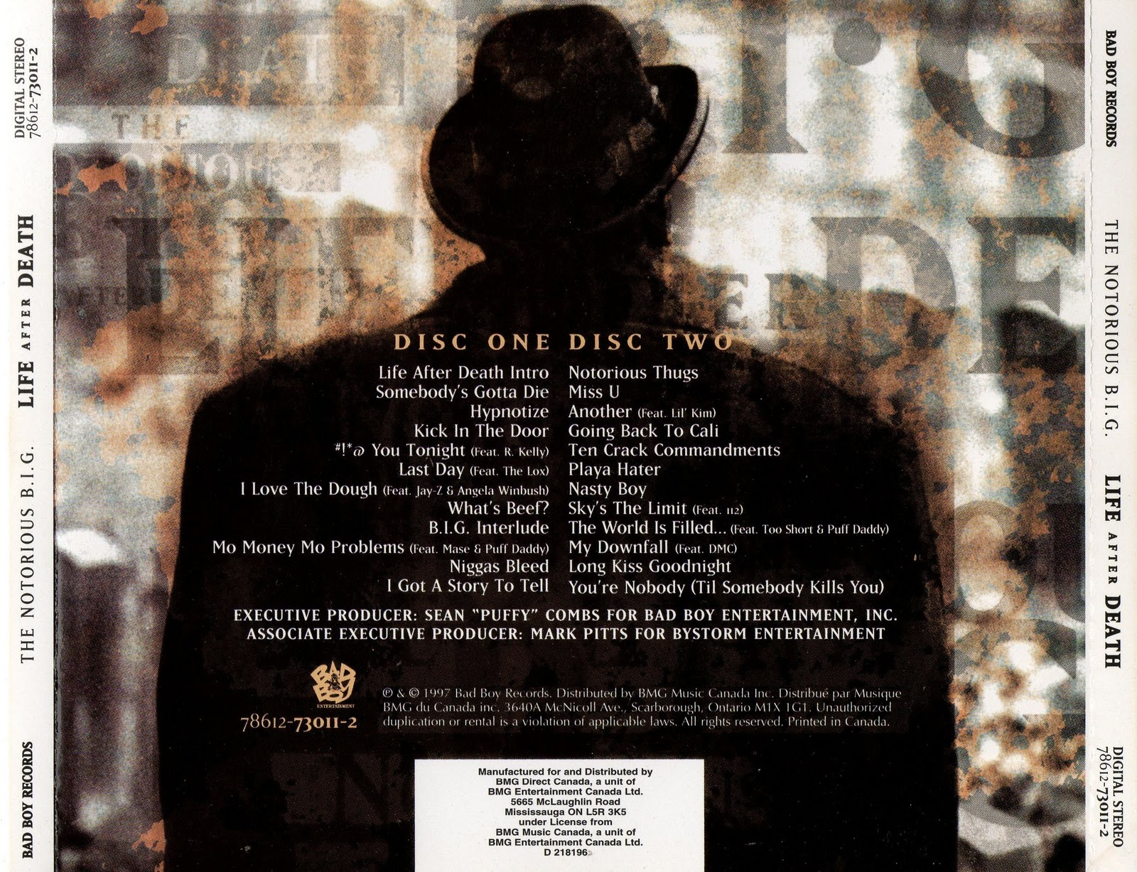 ARIAN SIDE: The Notorious B.I.G - life after death (1997)