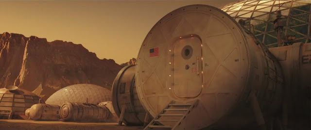 The Space Between Us Mars movie image - base