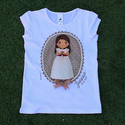 Camisetas personalizadas Primera Comunión