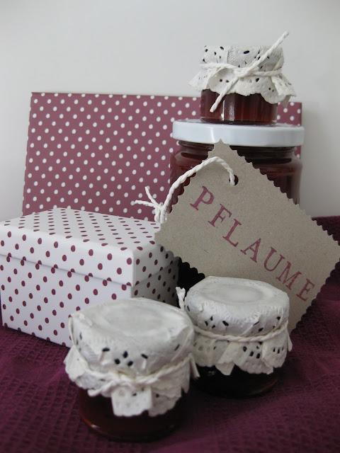 Pflaumenmarmelade und DIY Idee für hübsche Marmeladengläser Verpackung, Geschenk aus der Küche, Rezept auf dem Südtiroler Food- und Lifestyleblog kebo homing