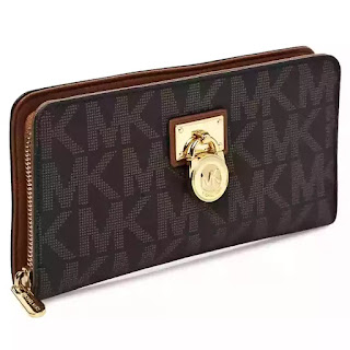 df13fdd7d4a09 محفظة مايكل كورس هاميلتون 18 كيه للنساء بسحاب - Michael Kors Clutches Bag  32T2GHMZ3B-227