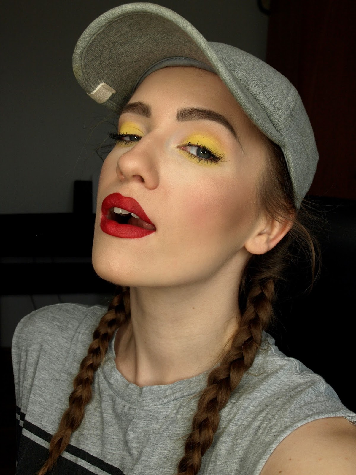 REDMYLIPS make-up blog: MY STYLE# KONTRASTOWY MAKIJAŻ ... Nyx Narcissistic