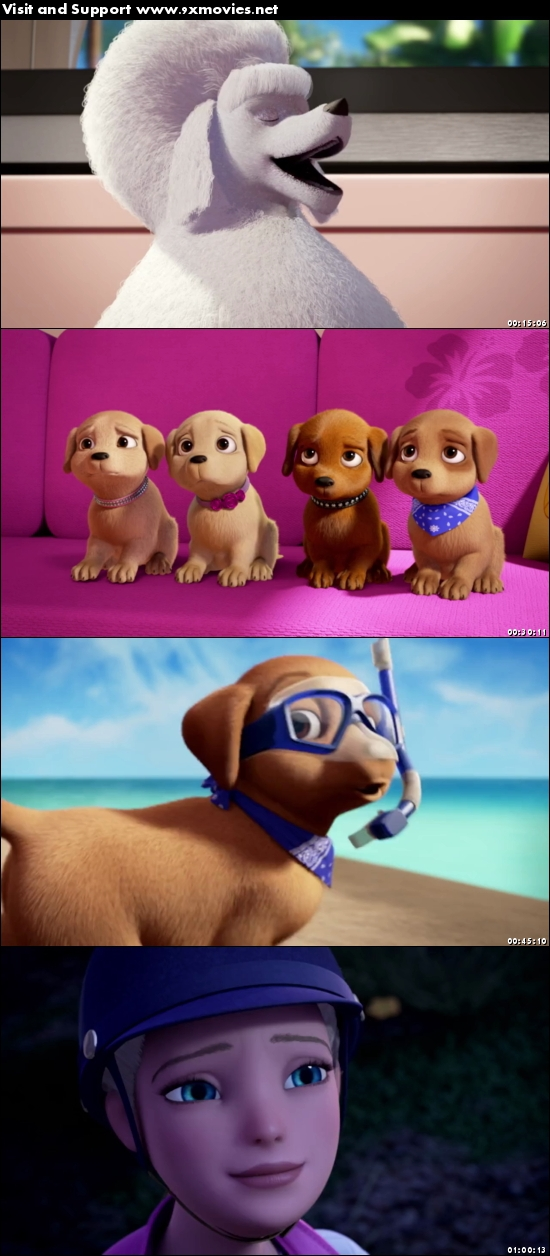 Barbie And Her Sisters In A Puppy Chase 2016 Dual Audio Hindi 480p BluRay