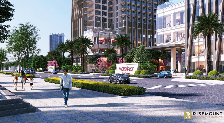Không gian sống đẳng cấp của dự án Risemount Đà Nẵng