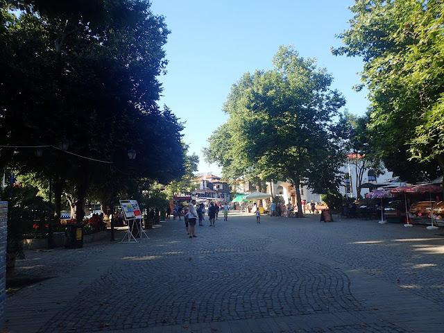 Sozopol - początek Starego Miasta