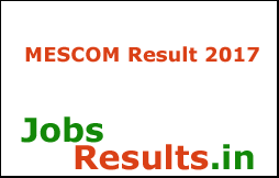 MESCOM Result 2017