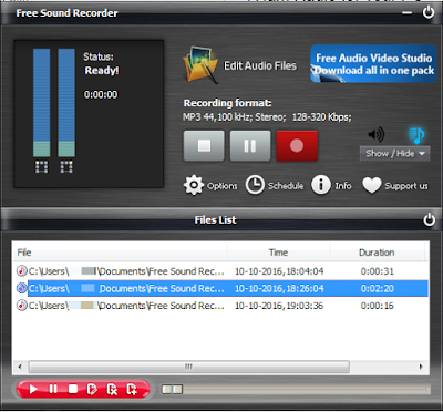 sound recorder download for windows 7, 10