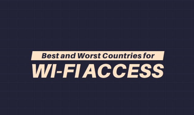 Best and Worst Countries for Wi-Fi Access