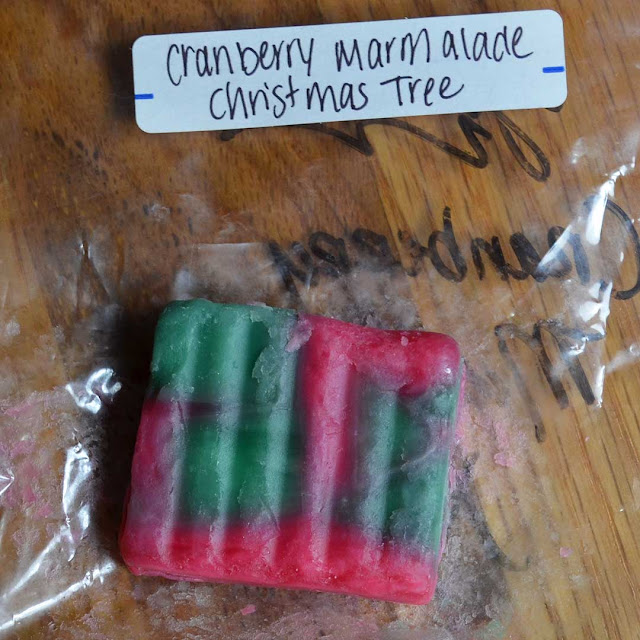 Cranberry Marmalade Christmas Tree wax melt