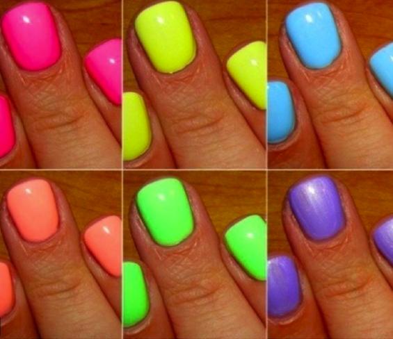 stylevitale neon nail art
