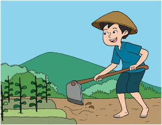 Iikuiku kehidupan jadi anak petani
