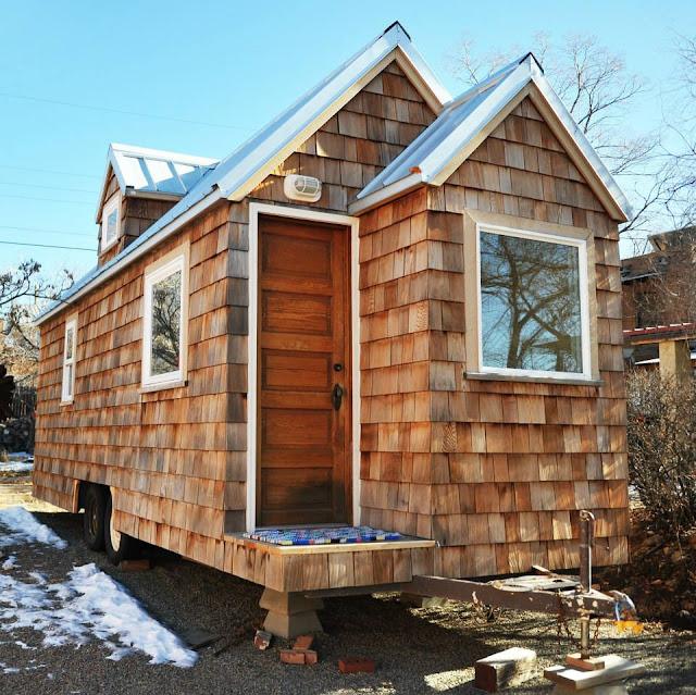 Tiny house town cedar shake tiny house 300 sq ft for Tiny house search