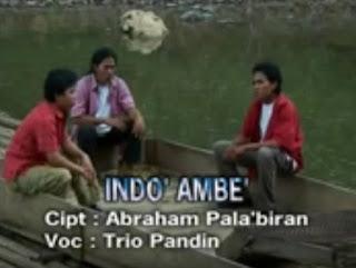 Lirik Lagu Indo' Ambe' (Trio Pandin)
