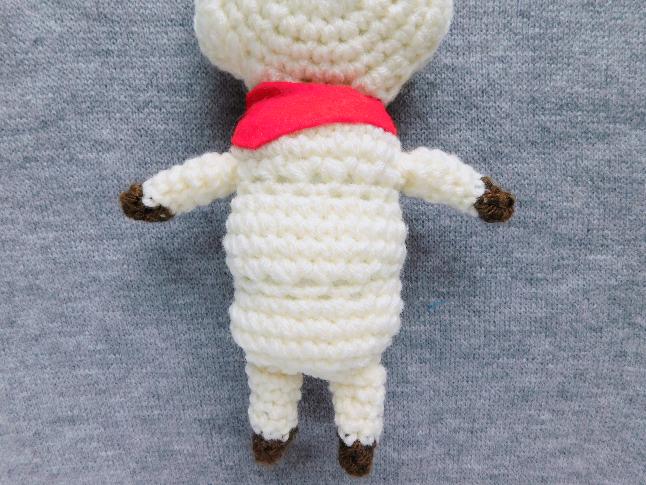 BT21 RJ Plush Crochet Pattern