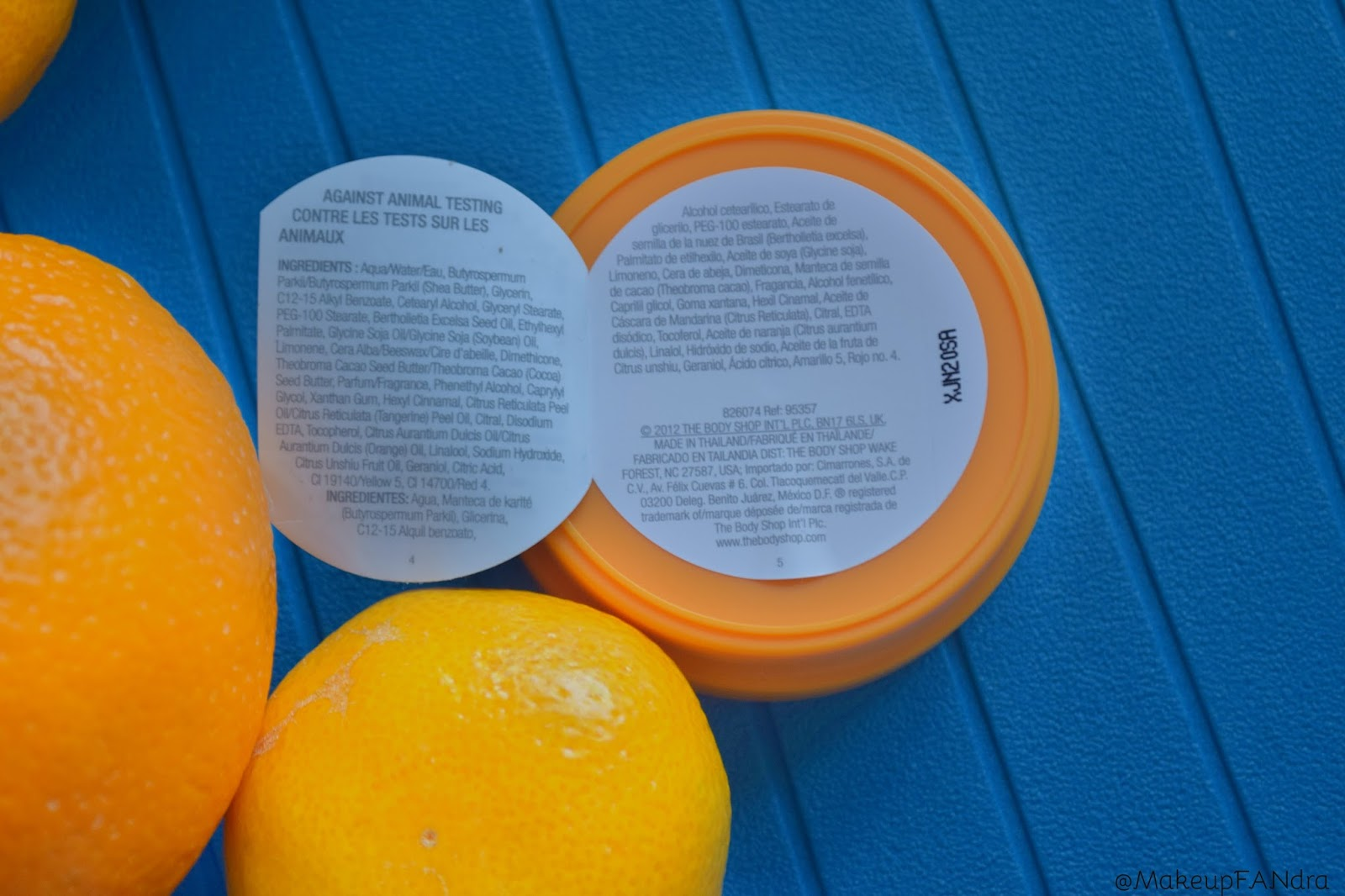 The body shop body butter satsuma 2
