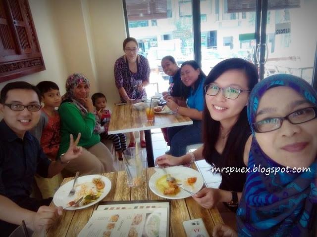 Udang Galah Antara Menu Menarik di The Nai Cafe