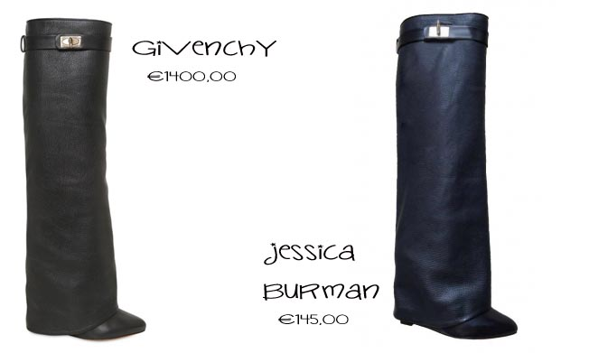 nuovo arrivo 6b907 75361 FunTastic Shopping Online: Givenchy Boots vs Jessica Buurman
