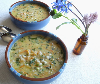 Mint & Barley Soup