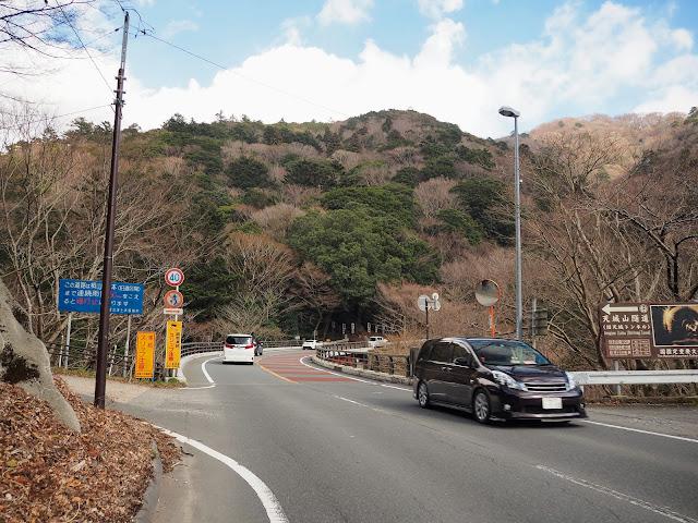 下田街道 旧道分岐
