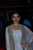Samantha Ruth Prabhu cute in Lace Border Anarkali Dress with Koti at 64th Jio Filmfare Awards South ~  Exclusive 026.JPG