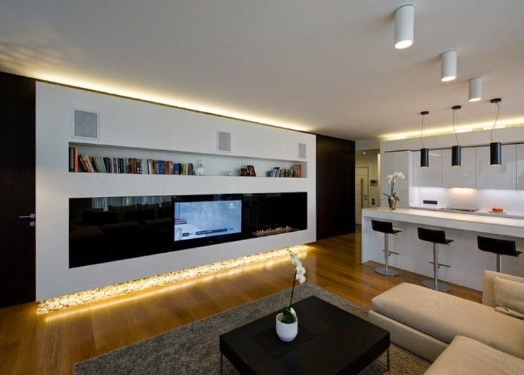 Indirect Lighting Ideas For Tv Wall Ceiling In Living Room