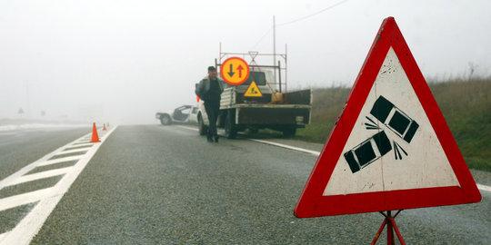 Dua Kecelakaan Beruntun Melibatkan 9 Kendaraan Terjadi Di Tol