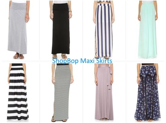 Away From Blue Blog Shopbop Maxi Skirt Picks