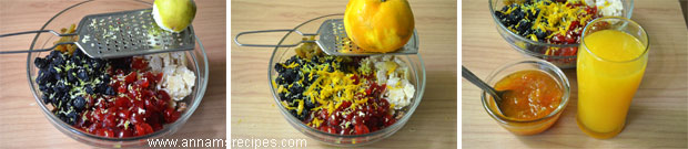 How to soak Dried fruits for Christmas Fruitcake