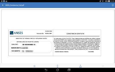 Previsualización de PDF desde IBM Navigator