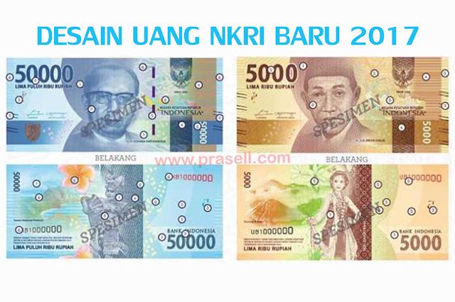 Desain Uang Terbaru 2017