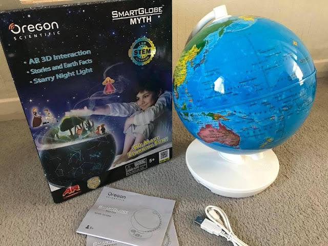 Oregon-Scientifi -SmartGlobe-Myth-AR