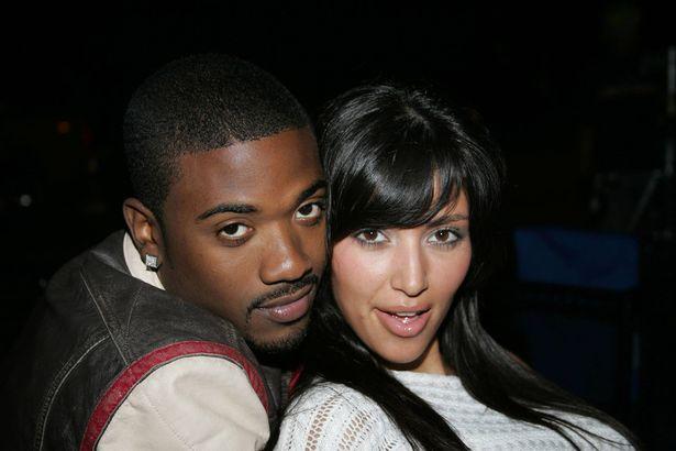 Ray J with Kim Kardashian