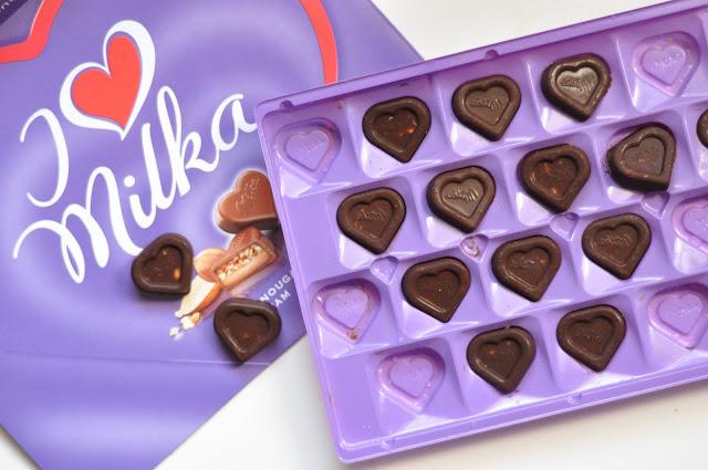 Dietetyczne czekoladki Milka z orzechami   bez laktozy, wegańskie, bezglutenowe, fit  