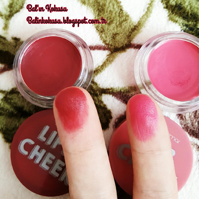 flormar lip cheek swatch