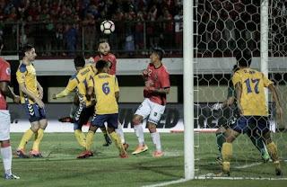 Bali United Menang 3-1 atas Tampines Rovers - Liga Champions Asia