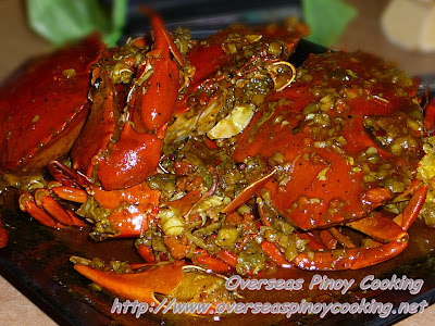 Chili Garlic Crab