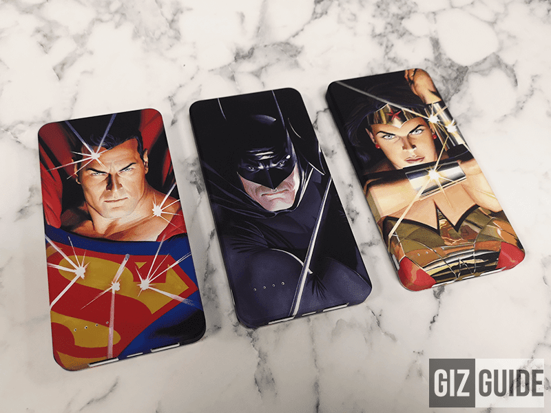 Ekonic launches DC certified limited edition Trinity Art Series power bank with art by Alex Ross in the Philippines!