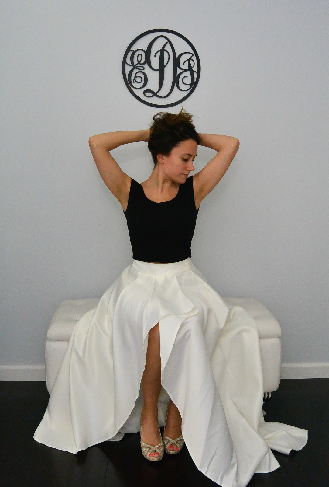 What To Wear With A High Low Ball Skirt How To Wear A Ball Gown Skirt