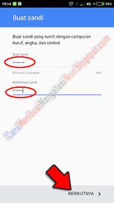 buat akun gmail android