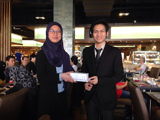 Best Dressed (Male) won by Amirul
