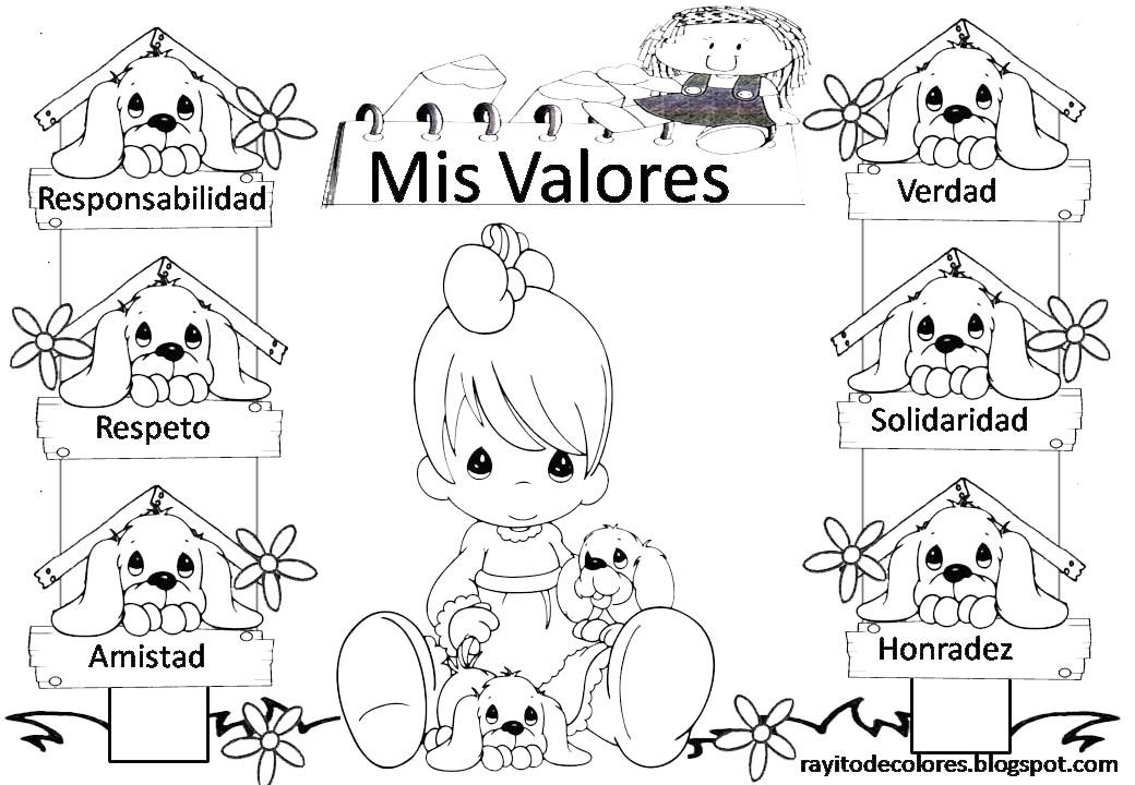 Rayito De Colores Carteles De Valores